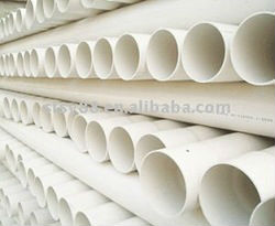 Plastic UPVC sewer pipe