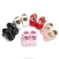 2017 new design high quality baby baba dress shoes cheap fancy hot leather toddler shoes