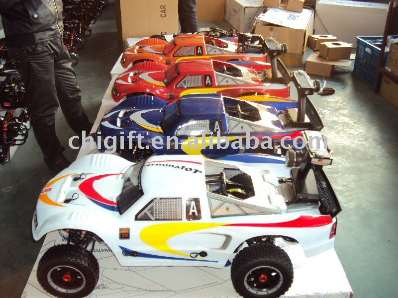 1/5 rc buggy with gas engine