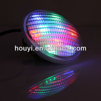 color changing 12v ip68 RGB/White par56 underwater pool light HY-P series spa bulb par56 led underwater light