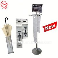 New economical and practical umbrella disposable bags stand for full sizes of umbrellas advertising led paper