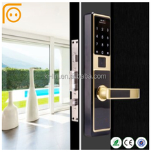 Smart Password Touch Screen Biometric Fingerprint Door Lock With Keypad