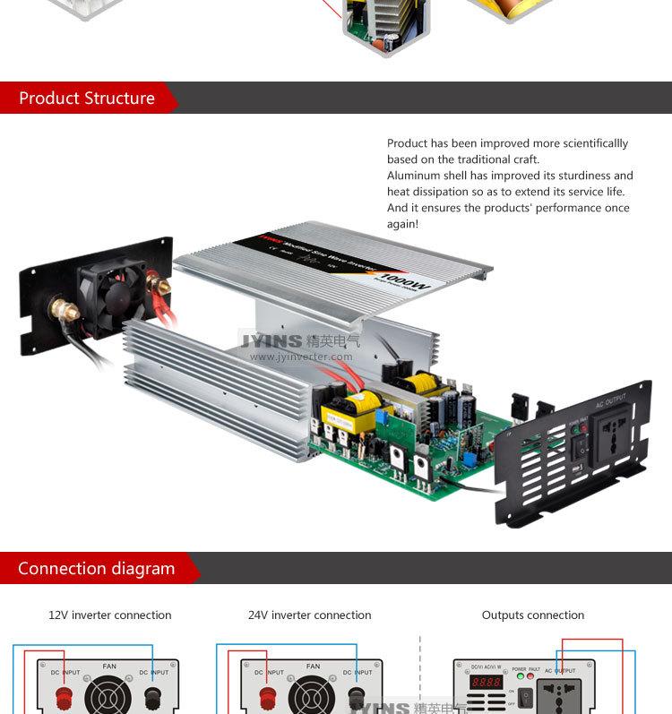 Schema 12v 220v 1000w Latest Self Charging Dc To Ac Watt Power