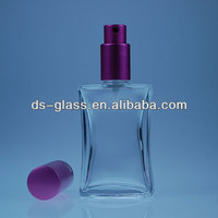 50ml, 100ml, 200ml glass perfume bottles