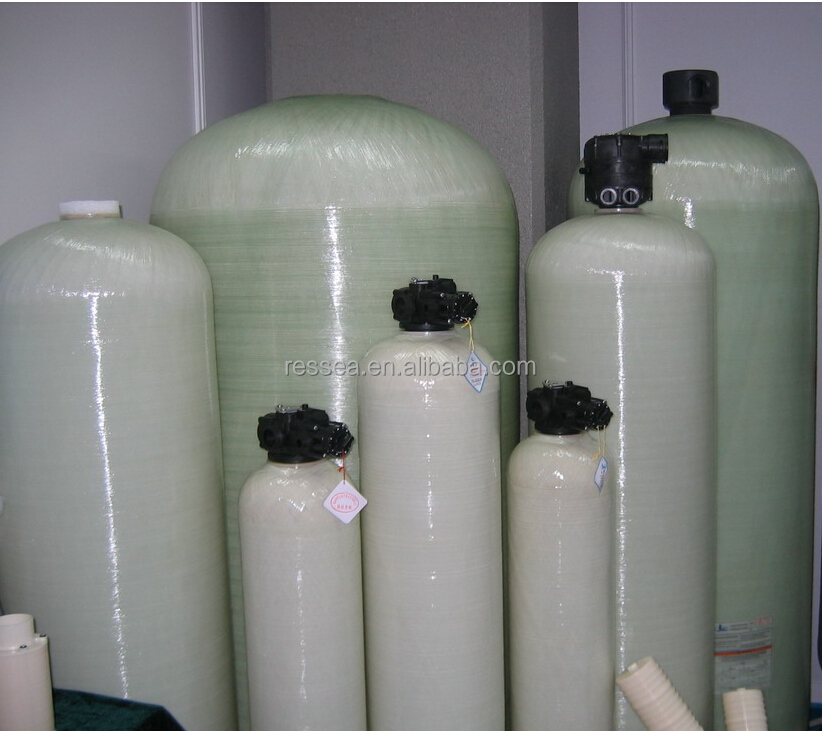 Fiberglass rapid sand filter tank /pressure vessel for water treatment