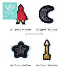 Cartoon Design Embroidery Beads Rhinestone Sew on Patches Applique Motif