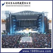 entertainment truss system lighting stage outdoor event aluminum truss