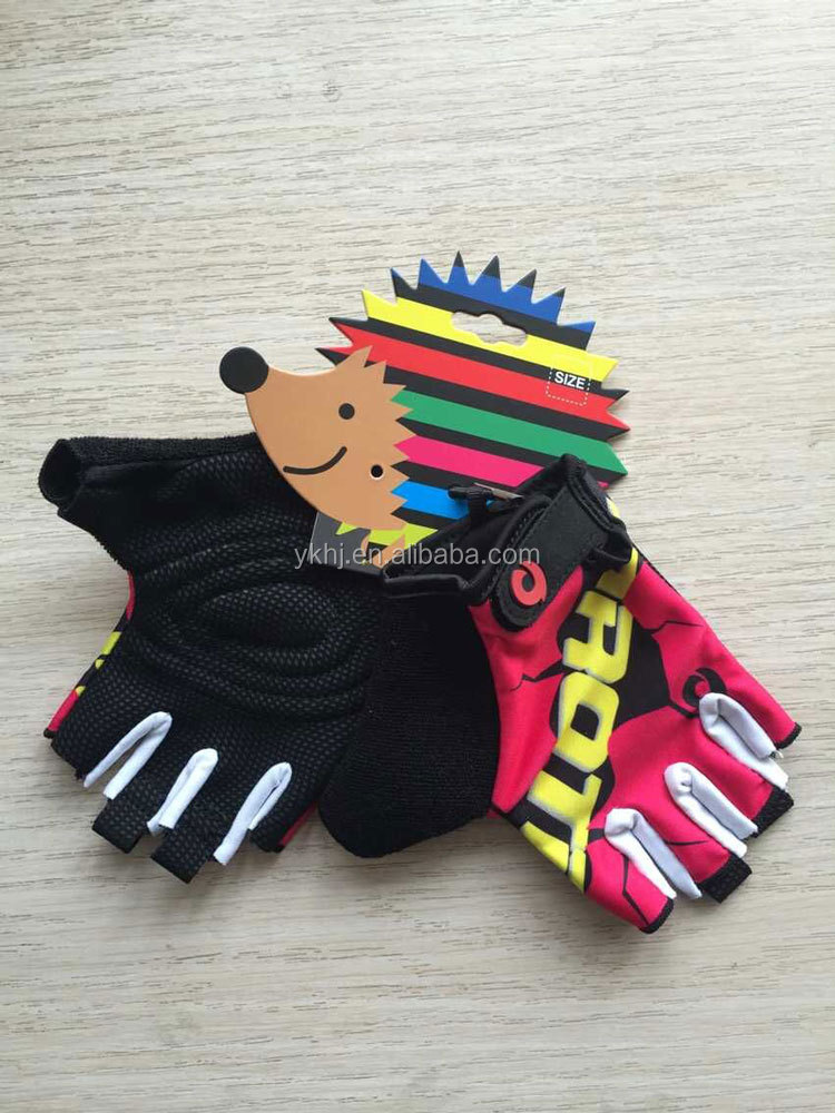 OEM high quality non-slip kids mtb gloves children cycling gloves
