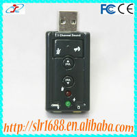 High Quality Virtual 7.1 Channel 3D Sound Card USB Driver