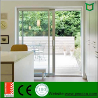 PNOC00127SLD AS2047/ISO/CE High quanlity aluminum sliding door with new design