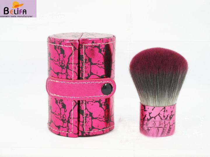 Belifa kabuki drop cute pink lovely with case