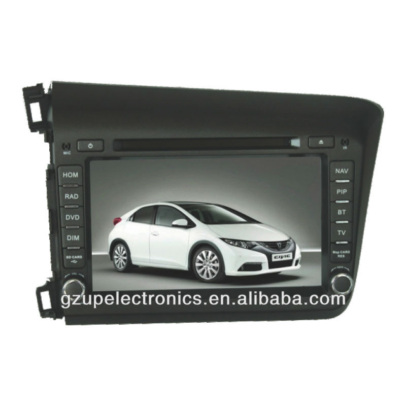 "8"" Customised Car DVD Player with GPS Bluetooth for Civic 2012"