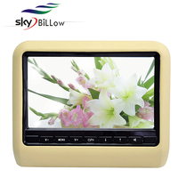 9 inch touch button portable car dvd with wireless game fm/ir transmitters headrest car DVD player