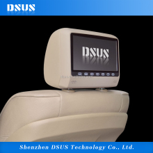 "Touch buttons 9"" HD Digital Screen Car Headrest Monitor + VIDEO/ DVD/USB/SD Player"