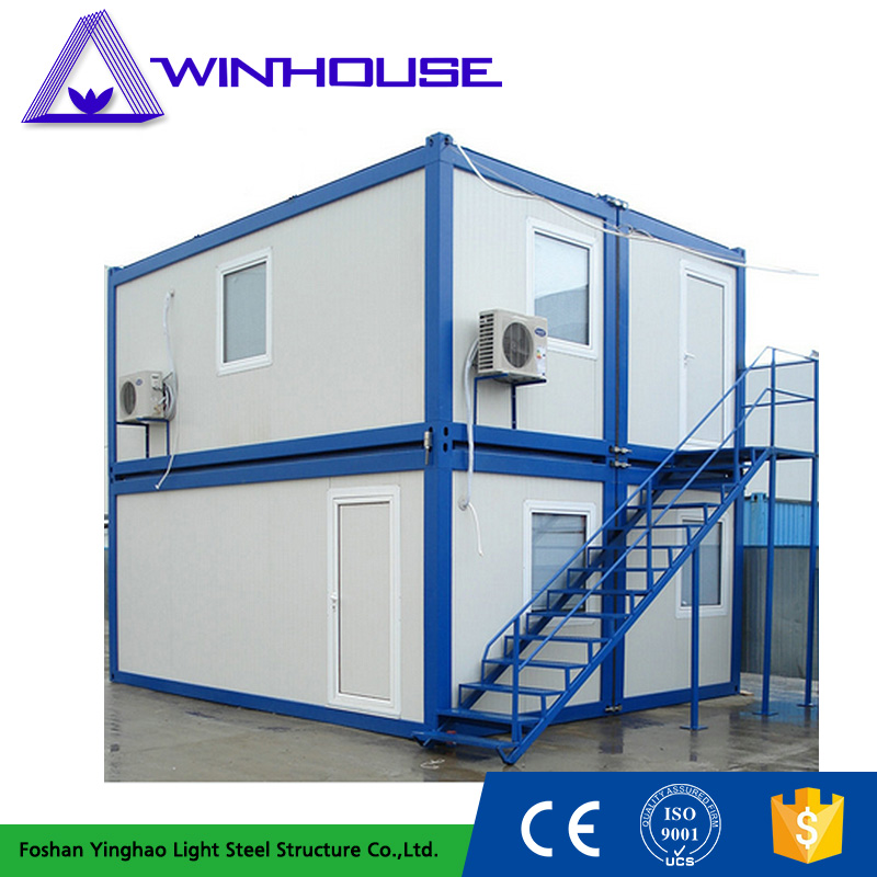 Two Storey Mobile 20 Ft Modular Prebuilt Container Home
