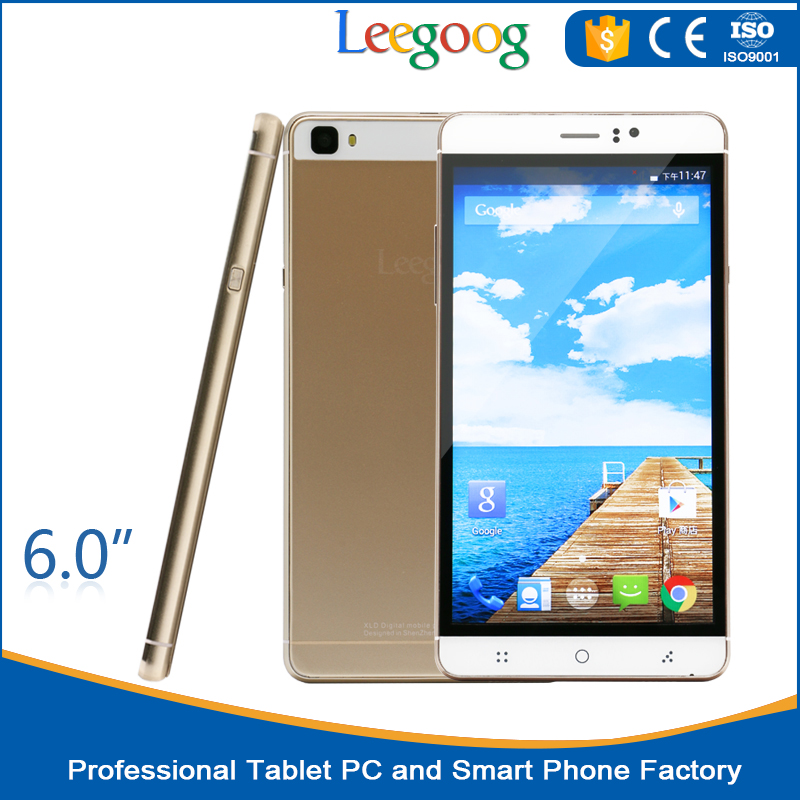 2016 Cheapest 6 inch big Screen unlocked smartphones cheap phones smartphone dual sim