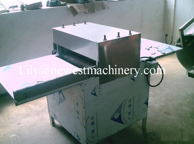 Manufacturer lowest price granola bars flattening machine