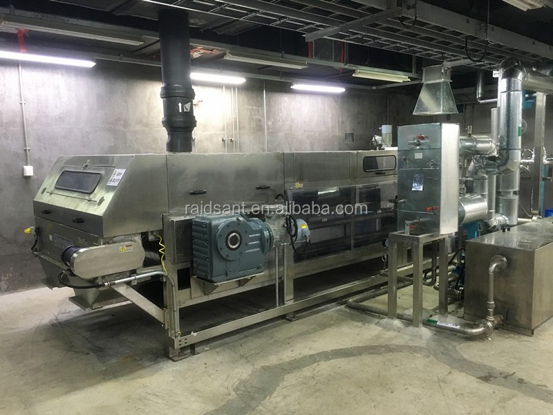 Steel belt Cooler and granulator with CE and ISO Certificate