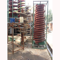 Gravity Separator Machine Spiral Chute for Mineral Sand Iron Zircon Chrome Ore Separating