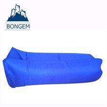 Long full time durable fast inflatable air lounge sofa lazy bag
