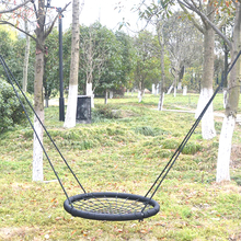 Outdoor bird nest rope swing chair for kids