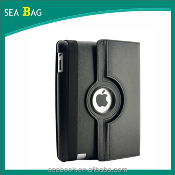 360 Degree Rotating Stand Case Cover for IPAD 2/3/4 With Wake and sleep function