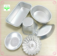 small cute portable aluminum cake mould multi shape kids like divided cake pans