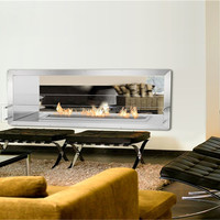 Bio Ethanol Remote Control Electric Fireplaces