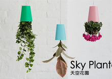 New arrival hanging flower pot sky planter Upside-Down Plant Pot fashion sky planter