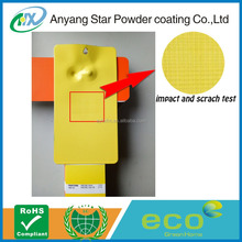 Anyang Star powder coating paints Powder Coating metallic epoxy paint epoxy resin both for indoor and outdoor