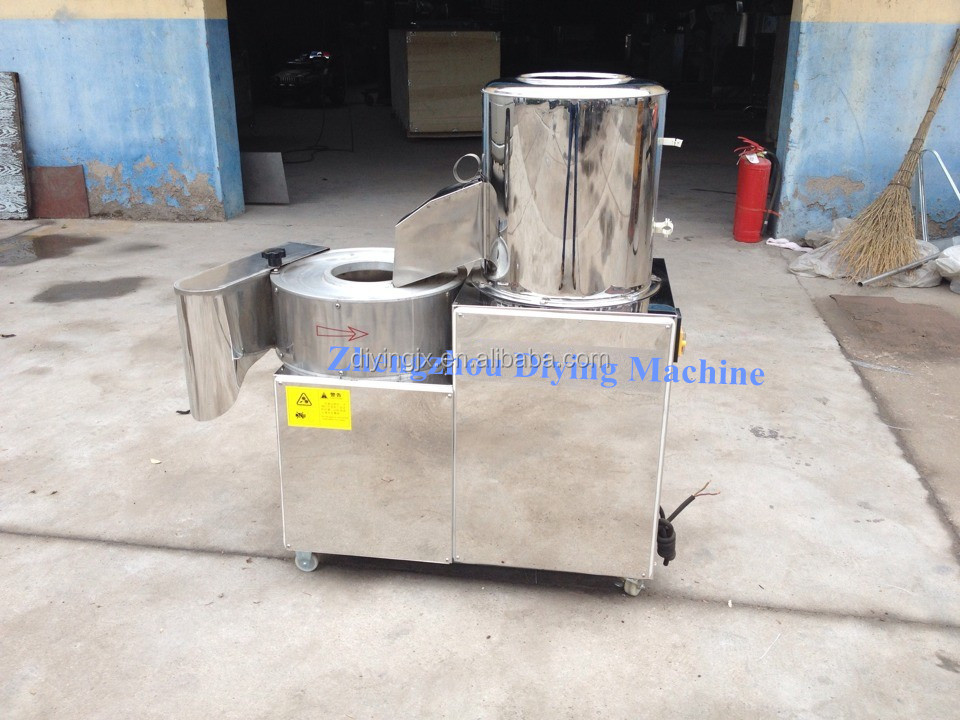 Good quality potato chip peeling and slicing machine/fresh potato chips making machine