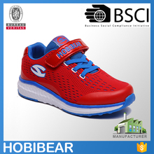 HOBIBEAR wholesale/oem children lightweight buckle strap sneaker brand training shoes