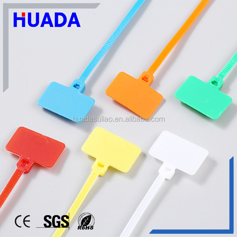 Rohs CE quality cable tie with label