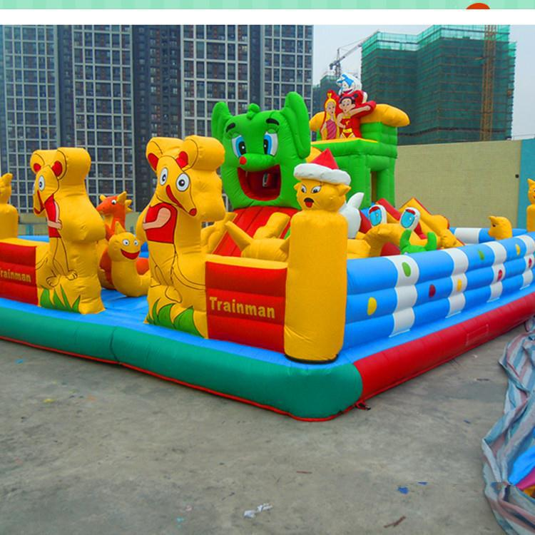 Brand new inflatable bouncy slide / inflatable football ground