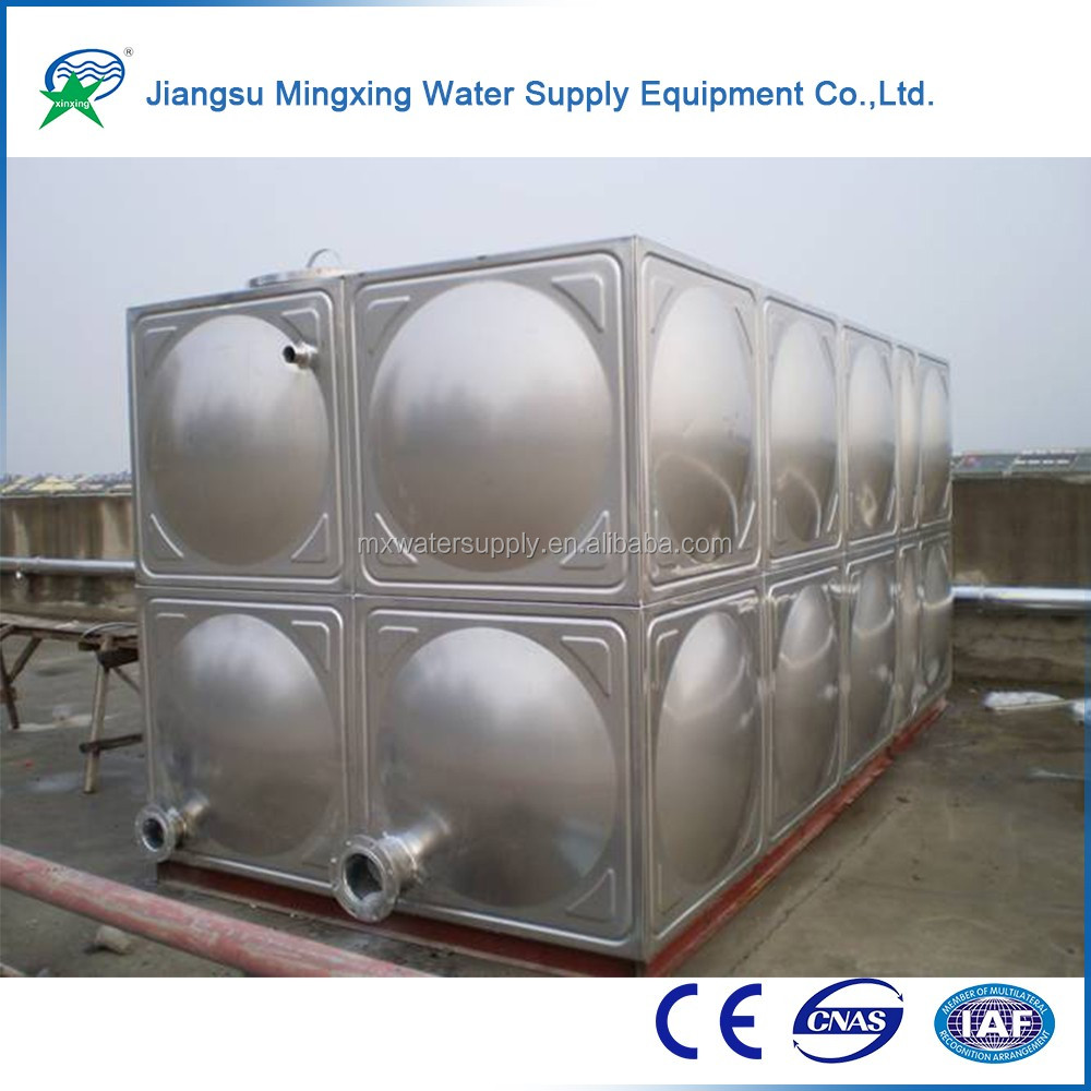 Wholesale direct from China cheap metal fabrication customization stainless steel square water tank