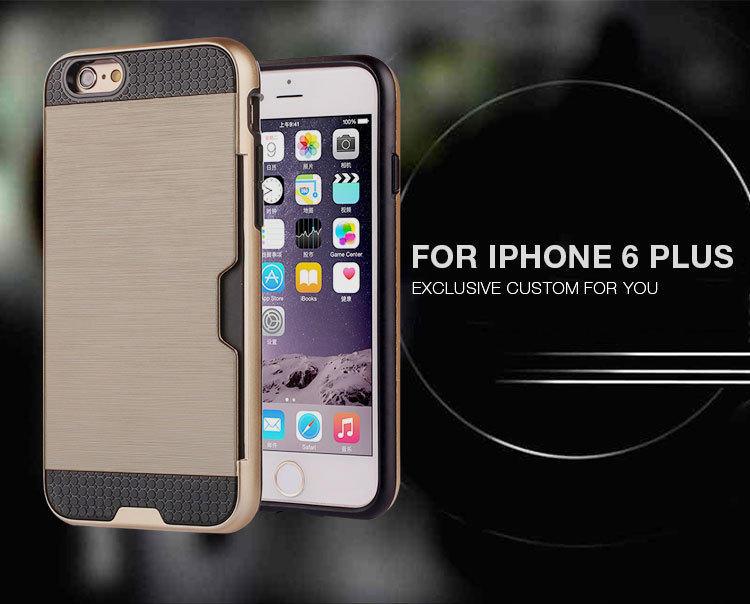 2016 Customized design for iphone 6s case armor, for iphone 6s plus case