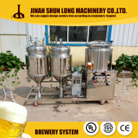 Flat Movable Home Brewing System 30l