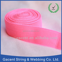 Fashion fold over elastic tape with 5/8 inches wide