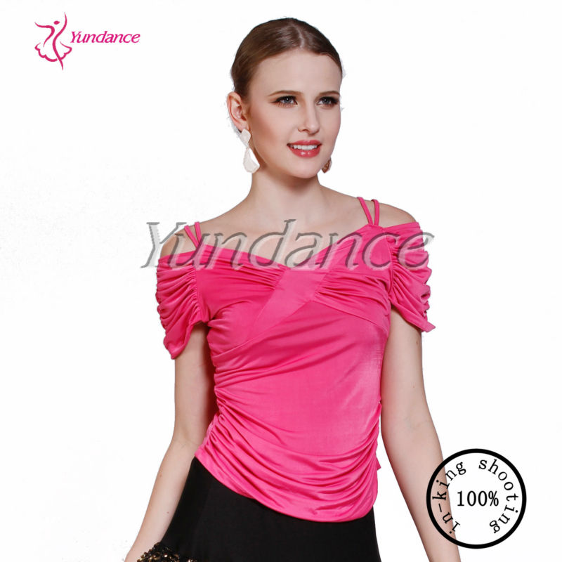 2016 Jazz Wholesale Pink Latin Dance Wear New Dance Wear AB010