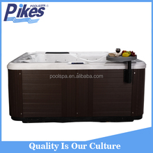 Good Quality US Clear Whirlpool Acrylic Bathtub massage hot tub manufacturer