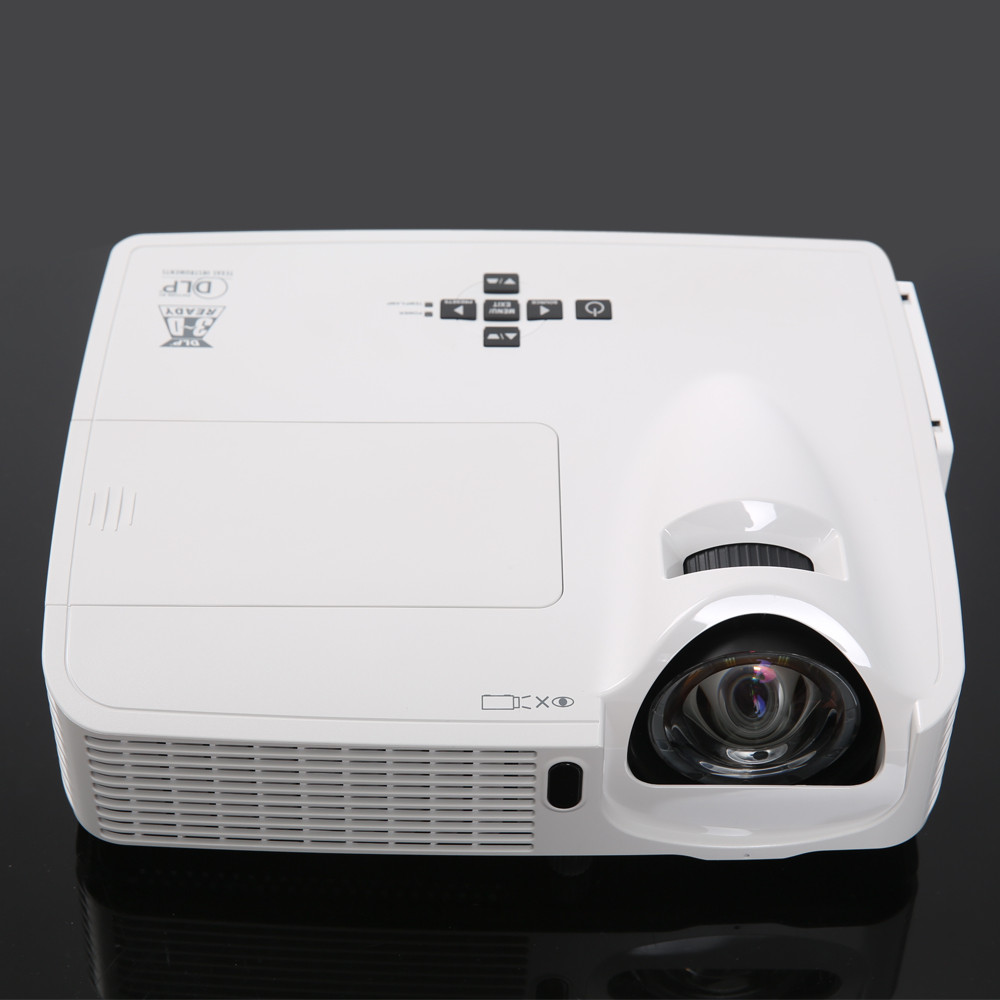 VS267 full hd 1080P DLP 3D data show outdoor ultra short throw <strong>projector</strong>