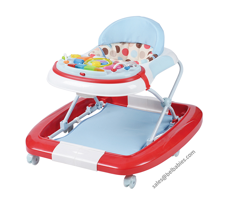 2 in 1 rocking horse walker baby mini walker W1122RA6