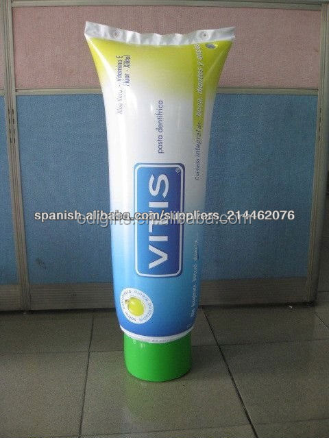 PVC Inflatable Promotion Toothpaste