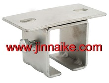 flat plate with U shape bracket for gates