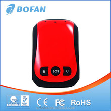 Bofan mini GPS personal tracker Equipped with internal battery, rechargeable, long standby time