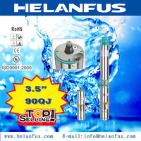 "3.5"" 90QJ stainless steel 220v submersible pumps"