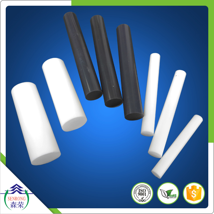 Shandong Senrong extruded and molded PTFE rod