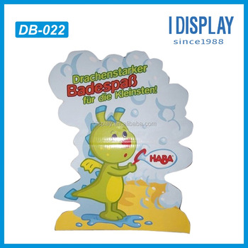 toy store counter display stand advertising standee for baby tool