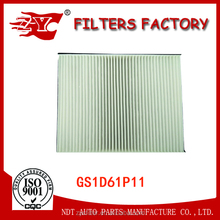 GS1D61P11 auto car cabin air filter for Mazda