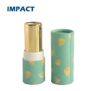 New style empty wholesale paper tube for lipstick tube